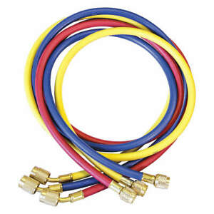Jb Industries Ccls 72 Manifold Hose Set 72 In red yellow blue