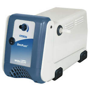 Welch 2047b 01 Vacuum Pump 1 5 Hp 28 50 In Hg 2 5 Cfm