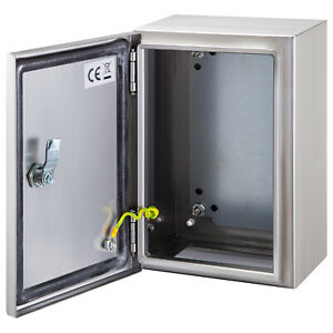 Vevor 10x8x4 stainless Steel Electrical Box Nema 4x Ip65 Electrical Enclosure