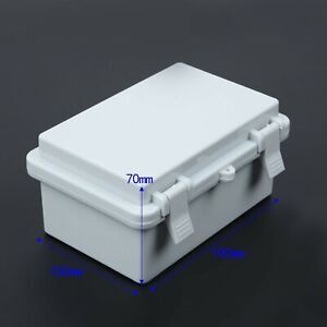 1pcs Junction Box Weatherproof Electrical Enclosure Ip65 Waterproof Abs New Hot