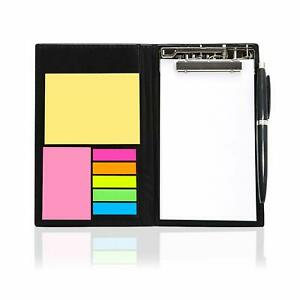 Memo Note Pad memo Note Book With Sticky Notes Clip Holder In Diary Style 2 Pc
