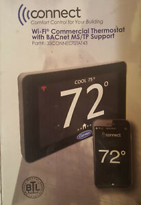 Carrier Thermostat 33connect43 New Version With Bacnet Option