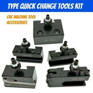 Quick Change Type Tool Kits Post Holder Kit Lathe Tools For Cnc Machine Tool