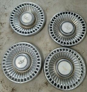 Used Set Of 4 Chevrolet Caprice Passenger Vehicle 77 79 15 Hubcaps