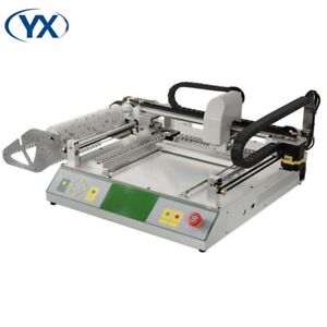 Yx Tvm802a Hd Camera Automatic Small Desktop Pick And Place Machine