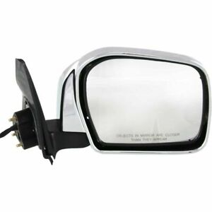 Door Mirror For 00 04 Toyota Tacoma Power Non heated Chrome Passenger Side