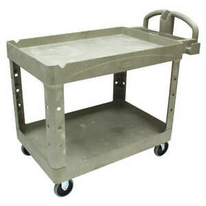 Rubbermaid Commercial Products Fg452088beig Utility Cart 500 Lb Load Cap
