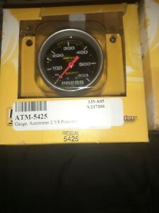 Pro comp Liquid Filled Mechanical Pressure Gauge 2 5 8