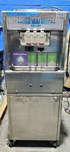 Taylor 161 27 Dual Soft Serve Ice Cream Frozen Yogurt Froyo Machine W Cabinet