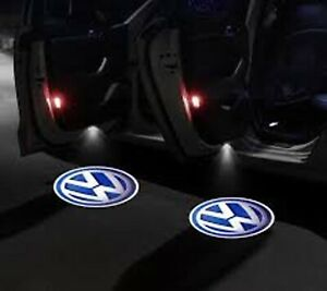 Volkswagen Vw 4pcs Door Projector Led Welcome Light Projection Courtesy Shadow