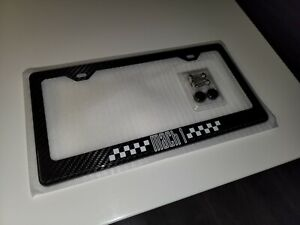 2021 Mach 1 Mustang Premium Carbon Fiber License Plate Frame