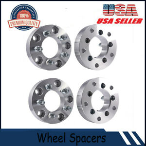 4pcs 1 5 5x5 5 To 5x4 5 Wheel Spacers Adapters 12x1 5 Studs 38mm Spacers Hot