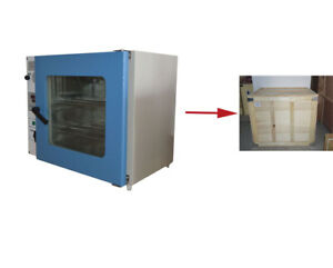 Enhanced 1 9cu Ft Vacuum Drying Oven For Laboratory 2 Shelves Tabletop 160452