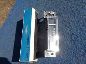 Nos Pontiac Floor Shift Indicator 1978 78 1979 79 1980 80 Grand Prix Lemans