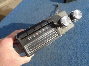 1969 Ford Mercury Factory 8 Track Radio