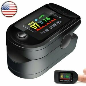 Fingertip Pulse Oximeter Oled Oxygen Saturation Meter Spo2 Pr Blood Monitor Ce