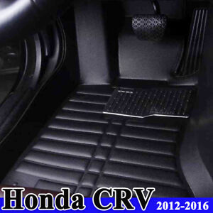 Floor Mats Compatible With Honda Crv 2012 2016 All Weather Front Rear Full Set