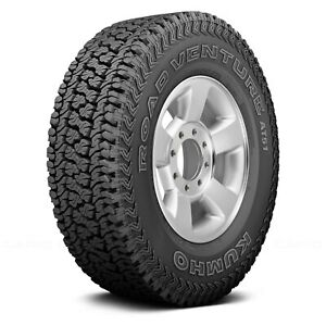 Kumho Set Of 4 Tires P255 70r17 T Road Venture At51 All Terrain Off Road Mud