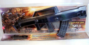 SR 1 CLASSIC ORIGINAL AIRSOFT CROSSFIRE RIFLE W QUICK MAG LOADER BY BULLSEYE:NEW $99.00