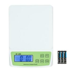22 Lb X 0 1oz Digital Postal Scale For Shipping Weight Postage 10kg W battery