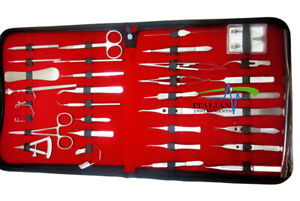 New 33 Pcs Ophthalmic Cataract Eye Micro Surgery Surgical Instruments Set