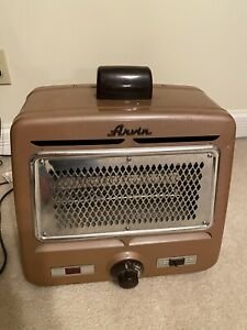 Vintage Arvin Brown Space Heater Rare Working Condition Electric Portable