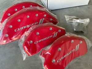 Mgp Caliper Covers 12162sch1rd Red Brake Covers Fits 2011 2020 Dodge Charger