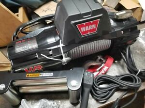 Warn 103252 Vr Evo 10 Standard Duty Winch With Steel Cable 10 000 Lb Capacity