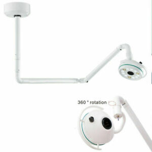 36w Led Ceiling Mounted Surgical Medical Exam Cold Light Shadowless Lamp 800mm