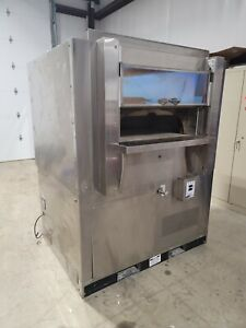 Wood Stone Fire Deck Pizza Oven Ws fd 6045 rfg l ir ng
