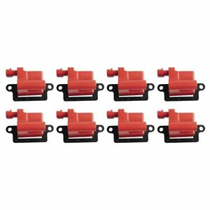 Premium High Performance Engine Ignition Coil Set For Chevy Gmc Cadillac