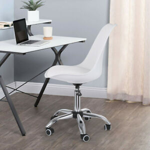 Task Chair Desk Chair Mid Back Armless Vanity Chair Swivel Office Rolling