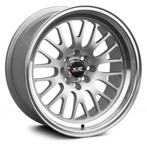 Xxr 531 Wheels 18x8 5 35 5x114 3 73 1 Silver Rims Set Of 4