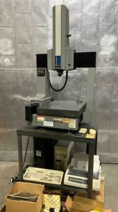 Brown Sharpe Microval Xyz Cmm Machine With Renishaw And Manuals