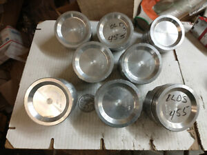 455 Oldsmobile Forged Pistons L2390f 040 Over