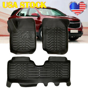 For Chevy Equinox 2017 2021 Car Floor Mats Xpe Cover Pads Non Silp Waterproof