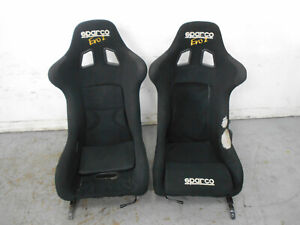 2003 03 Porsche 911 Carrera Sparco Evo 2 Racing Seats Brackets 0569