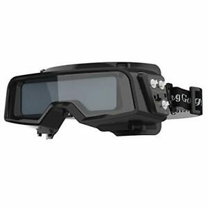 True Color Auto Darkening Welding Goggles wide Shade Range 4 5 9 9 13 With