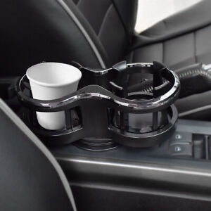 Universal Car Truck Drink Cup Holder Mount For Water Coffee Double Hole Bottle