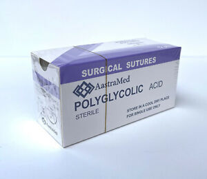 3 0 Pga Polyglycolic Acid 19mm Reverse Cutting 12ct Box
