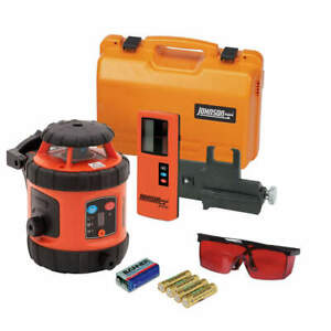 Johnson 40 6516 Rotary Laser Level int ext red 800 Ft