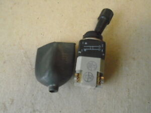 1 Ea Nos Ece France 2 Position Locking Toggle Switch W Boot P n 13 610