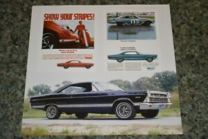 1967 Ford Fairlane 500 Gt Picture Feature Print 67 500xl 390 427 3