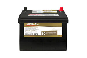 Battery silver Acdelco Pro 34ps