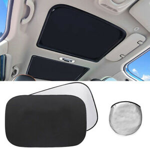 2pcs Sunroof Sun Shade Foldable Sunscreen For Mini Cooper Clubman Countryman