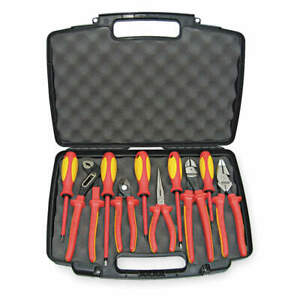 Knipex 9k 98 98 31 Us Insulated Tool Set 10 Pc