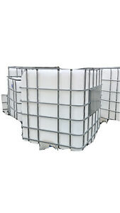 300 Gallon Water Tank With 3 Inch Threaded Outlet And Outer Cage