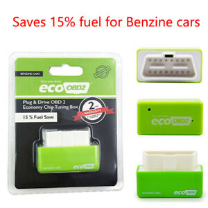 Eco Obd2 Benzine Economy Fuel Saver Tuning Box Chip For Petrol Car Gas Saving Wa