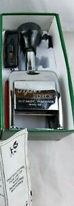 Ajax Automatic Numbering Machine the Force Model 68 Stamper England