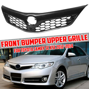 For Toyota Camry Se Xse Front Bumper Radiator Grille Upper Grill 2012 2013 2014